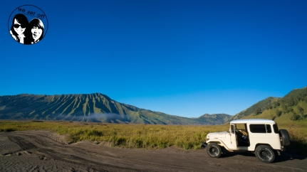 on our way to Mt.Bromo, the beautiful view's so impressive!