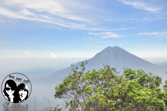 Views on the way to ijen,Indonesia